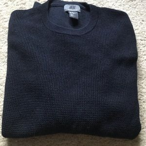 H&M cotton crewneck sweater (x-small)